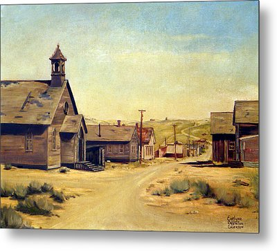 Bodie California Metal Print by Evelyne Boynton Grierson