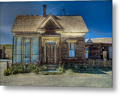 Bodie House Metal Print by Greg Nyquist