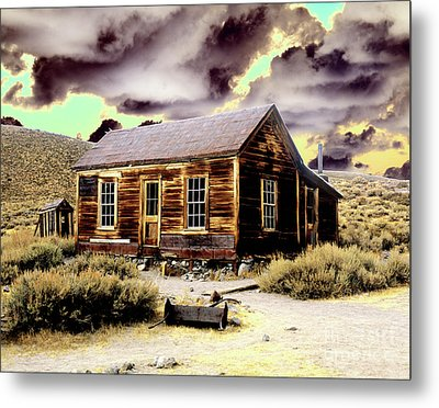 Metal Print featuring the photograph Bodie House by Jim and Emily Bush