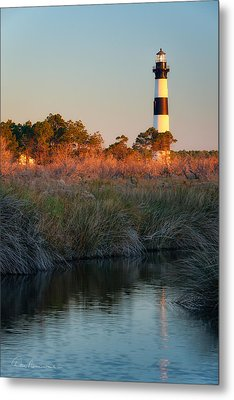 Bodie Island Light 2589 Metal Print