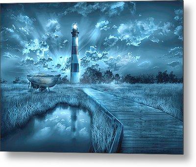 Bodie Island Lighthouse 2 Metal Print