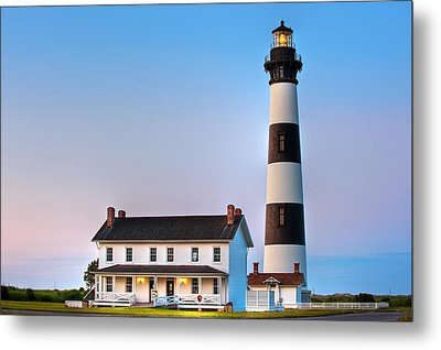 Bodie Island Lighthouse Metal Print by Bernard Chen