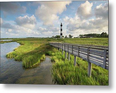 Bodie Island Lighthouse North Carolina Metal Print by Mark VanDyke