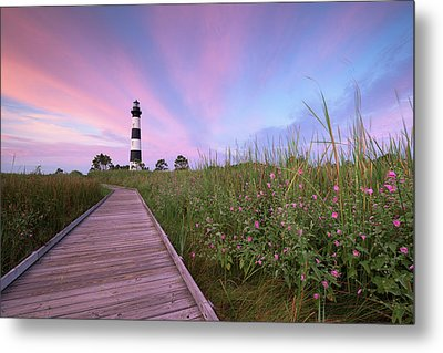 Bodie Island Obx Sunrise Metal Print by Mark VanDyke