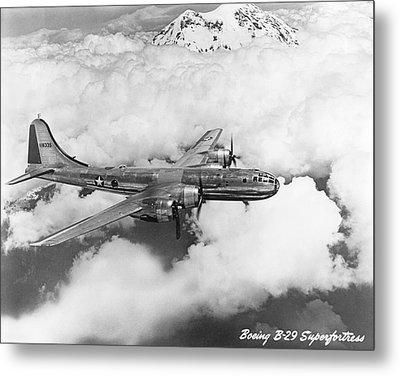 Boeing B-29 Superfortress Metal Print