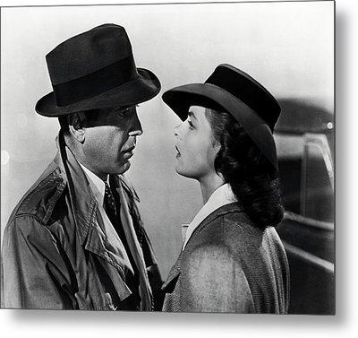 Bogey And Bergman Casablanca  1942 Metal Print
