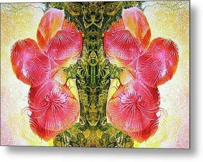 Bogomil Anniversary Flower - Digital Metal Print by Otto Rapp