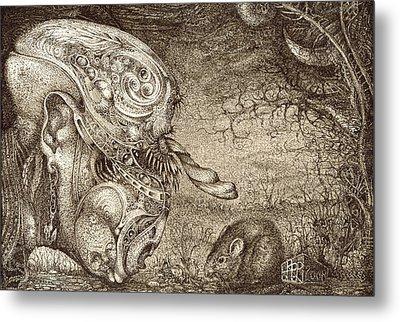 Bogomils Mousetrap Metal Print by Otto Rapp