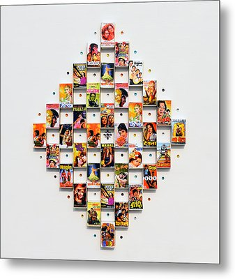 Bollywood On A Mathbox 2 Metal Print