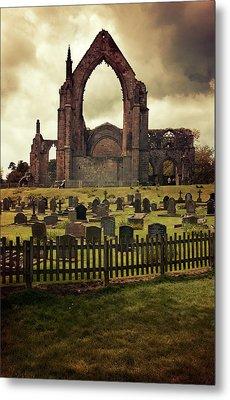 Bolton Abbey At Sunset Metal Print by Jaroslaw Blaminsky