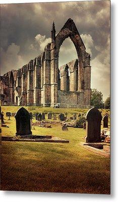 Bolton Abbey In The Uk Metal Print by Jaroslaw Blaminsky