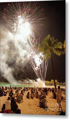 Bombs Bursting In Air Metal Print