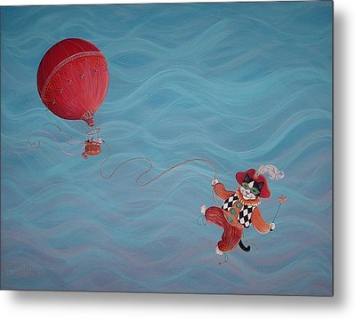Metal Print featuring the painting Bon Voyage by Dee Davis