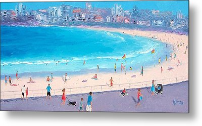 Bondi In December Metal Print