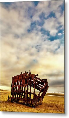Bones Of A Shipwreck Metal Print