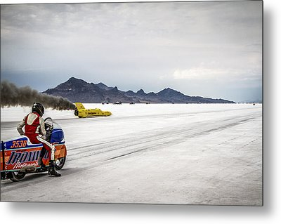 Bonneville Speed Week 2012 Metal Print