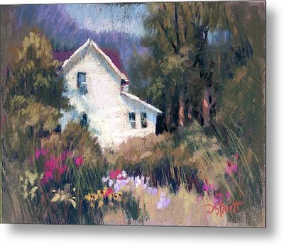 Bonny Garden Metal Print by Donna Shortt