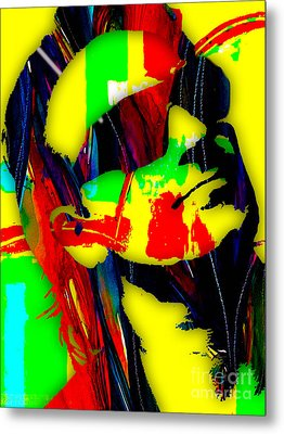 Bono Collection Metal Print by Marvin Blaine