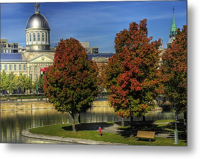 Bonsecours Market Metal Print