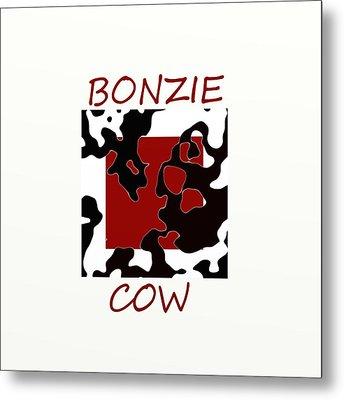 Bonzie Cow Metal Print