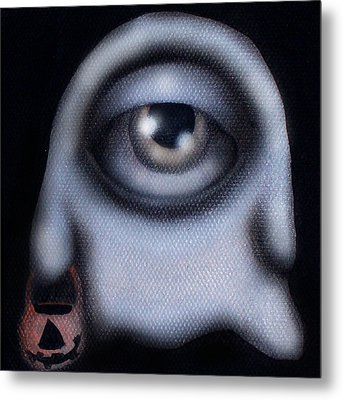 Boo Metal Print by  Abril Andrade Griffith