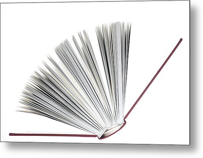 Book Metal Print by Frank Tschakert
