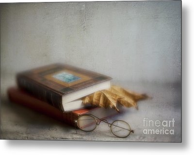 Metal Print featuring the photograph  Bookmark by Elena Nosyreva