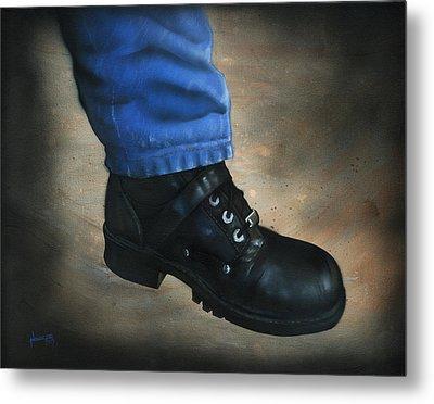 Boot Metal Print by Luis  Navarro
