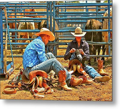 Boot Up Metal Print by Gus McCrea