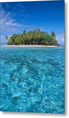 Bora Bora, Motu Metal Print by Joe Carini - Printscapes
