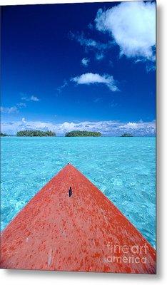 Bora Bora, View Metal Print by William Waterfall - Printscapes