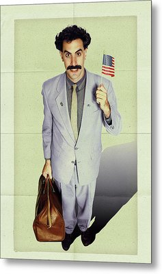 Borat 2006 Metal Print
