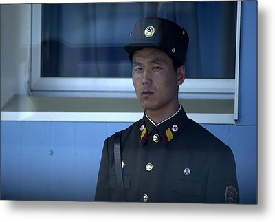 Border Guard Metal Print by Eric Foltz