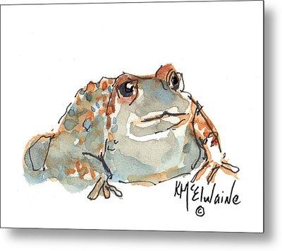 Boreal Chorus Frog Metal Print