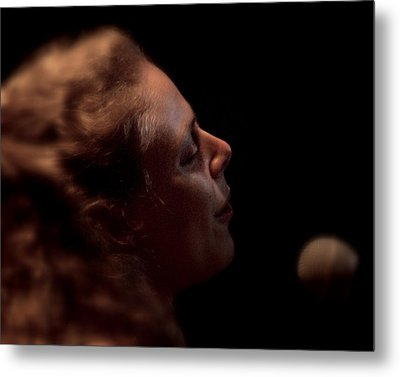 Metal Print featuring the photograph Born For The Blues by Karen Musick