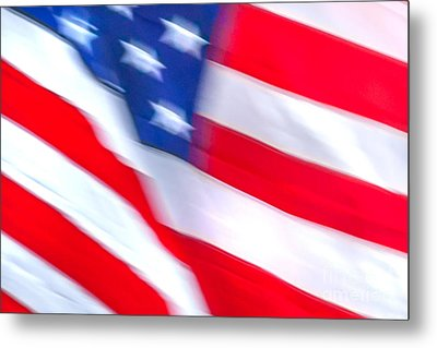 Born In The Usa Metal Print