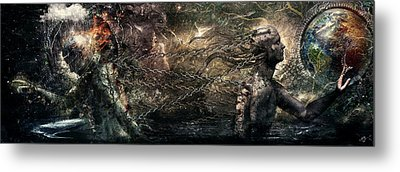 Born Of Osiris Soul Sphere Metal Print by Cameron Gray