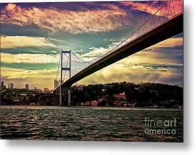 Bosphorous Bridge Metal Print by Nilay Tailor