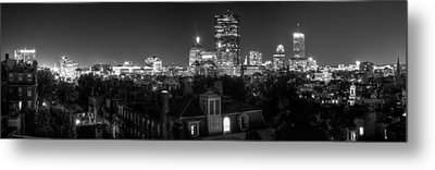 Boston After Dark Metal Print by Andrew Kubica