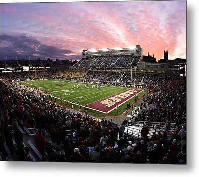 Boston College Alumni Stadium Metal Print by John Quackenbos