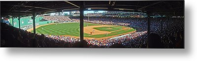 Boston Fenway Park Metal Print by Juergen Roth