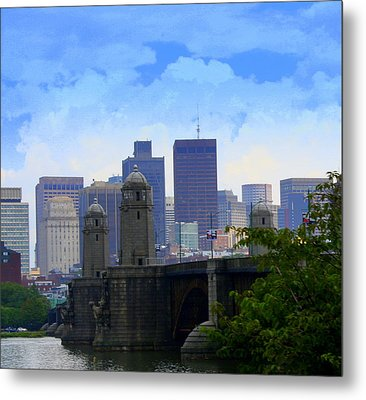 Boston  Metal Print by Julie Lueders