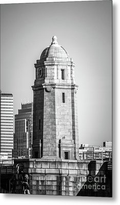 Boston Longfellow Bridge Salt And Pepper Shaker Photo Metal Print by Paul Velgos