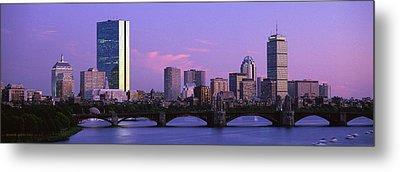 Boston Ma Metal Print by Panoramic Images