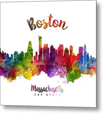 Boston Massachusetts 23 Metal Print by Aged Pixel