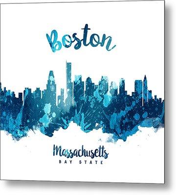 Boston Massachusetts 27 Metal Print by Aged Pixel