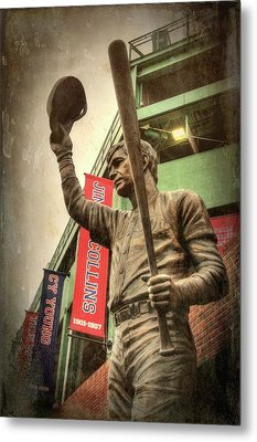 Boston Red Sox - Carl Yastrzemski Metal Print by Joann Vitali