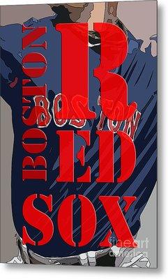 Boston Red Sox  Metal Print by Pablo Franchi