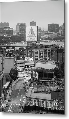 Boston Skyline Photo With The Citgo Sign Metal Print