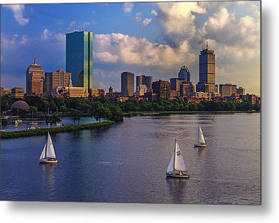 Boston Skyline Metal Print by Rick Berk
